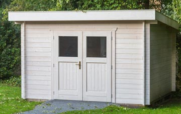 Combe Raleigh garden shed costs
